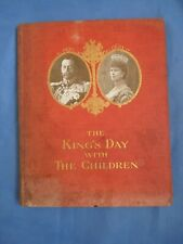 1911 George V Book King's Day with The Children Coronation Fete Crystal Palace