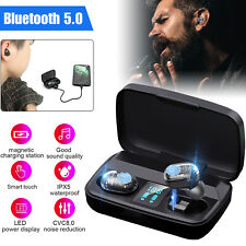 Bluetooth 5.0 Earbuds Tws Wireless Headphone Touch Bass Headset Noise Ca 00004000 ncelling