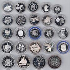 24 Silbermünzen   meist PP   ANSEHEN !   Top Sammlung   #1074