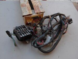 NOS PONTIAC 1972 BONNEVILLE GRAND VILLE DASHBOARD WIRING HARNESS W/FUSES  Q