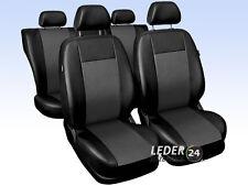 VW Golf 4 Auto Sitzbezüge Schonbezüge Kunstleder Universal schwarz grau