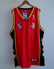 2004 NBA CHINA GAMES ROCKETS vs. KINGS REEBOK STITCHED BASKETBALL JERSEY XL NWT!