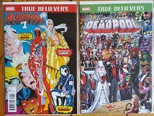 Deapool True Believers - New Mutants #98 & Wedding Reprint NM 1st Print Movie