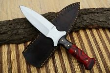 """10"""" MH KNIVES CUSTOM HANDMADE D2 STEEL FULL TANG HUNTING/SKINNER KNIFE MH-414W"""