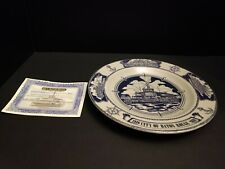 Nautical River Boat Collector Plate City of Baton Rouge 100 year Anniversary