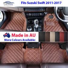 AU Made 3D Customised Tailored Floor Mats Multi-Colours Suzuki Swift 2011-2017