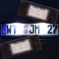 Set LED SMD Kennzeichenbeleuchtung VW Passat 3bg B5 Golf 5 Variant 7501