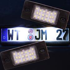 Set LED SMD Kennzeichenbeleuchtung VW Passat 3bg B5 Golf 5 Variant TÜV FREI 7501