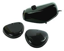 Lackset Tank + Seitendeckel schwarz pas. für Simson S51 S50 S70 Kraftstoffbehält