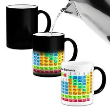 Periodic Table of the Elements ..Novelty Heat Colour Changing Mug