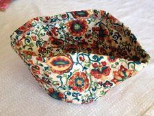 Longaberger Medium Roundabout Casserole Dish Pottery Pocket Spice Market Liner