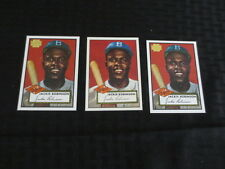 2001 Topps Archives +1995 Topps Jackie Robinson Lot of 3 1952