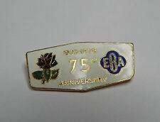 English bowling Association 75th Anniversary badge