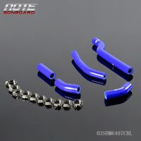 Silicone Radiator Hose Kit For Yamaha YZF-250 06 / WRF-250 07 08 09 YZ/WR-250F