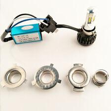 3500LM COB 30W H4 Hi/Lo LED Motorcycle Headlight Bulb P15D BA20D Motor Lights