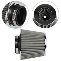 Universal Car Air Filter Induction Kit Sports Car Cone Chrome Finish UK