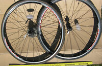"Shimano R500 700c Wheelset 9 Speed? Wheel Set Front Rear 700 27"" Road Bike"
