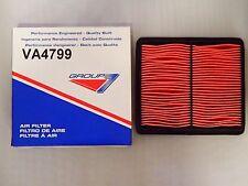 Group7 VA4799 Air Filter for 92-95 Honda Civic 93-97 Civic Del Sol