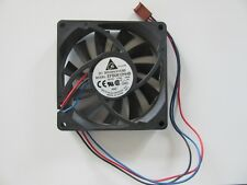 DC Delta EFB0812HHB 12V 0.40A Fan 80mm x 15mm 3-Pin - TESTED