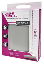 Casabella Basics All Surface Pink and Gray Carpet Sweeper