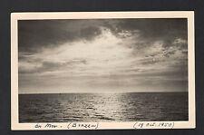 BRAZZA (CONGO) en MER , Carte-Photo en 1950