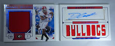 2020 National Treasures D'andre Swift Lions Rookie Auto Patch Booklet #35/35 1/1