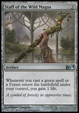 MTG 2x STAFF OF THE WILD MAGUS - BASTONE DEL MAGUS SELVAGGIO - M14 - MAGIC