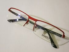 STARCK MIKLI PL1110 M02M Red Noir Black Optique Glasses Eyewear Eyeglass Frame