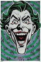 BATMAN ~ JOKER TARGET 24x36 COMIC ART POSTER DC HA HA HA NEW/ROLLED!