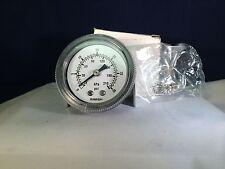 Marsh Bellofram Pressure Gauge 30 PSI