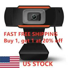 Rotatable 2.0 HD Webcam PC Digital USB Camera Video Recording with Microphone*