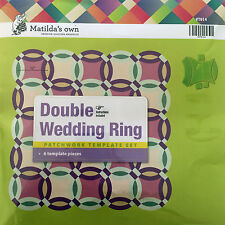 Matilda's Own Double Wedding Ring Patchwork Template Set