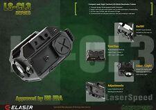 IR Laser Sight Tactical Light Combo CREE LED 225 Lumen Pistol Rifle Shotgun
