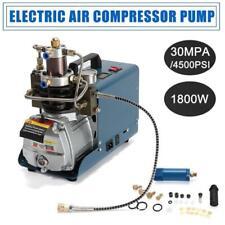 30MPa Air Compressor Pump 110V PCP Electric 4500PSI High Pressure Auto Shut