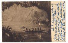 grotte de han , le lac d'embarquement