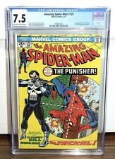 AMAZING SPIDER-MAN #129 (1974) - CGC GRADE 7.5 - 1ST APPEARANCE OF THE PUNISHER!