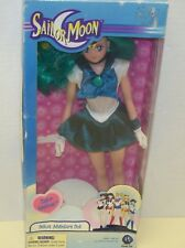 Sailor Moon-Sailor Neptune Doll, New In Box, With Mirror, And Doll Stand, Exc-Nm