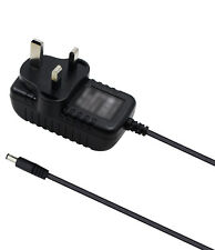 UK AC/DC Wall Power Supply Adapter For Casio WK-3000 PX-100 Midi Keyboard