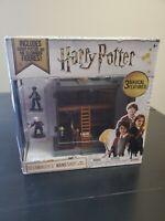 Harry Potter Ollivander's Wand Shop Mini Diagon Alley Playset w/ Mini Figures N