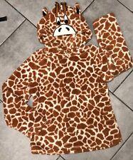 George Soft Fluffy Velour Girls Womens Pyjamas Top Size 12-14 Giraffe