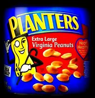 PLANTERS JUMBO ROASTED PEANUTS 10 LB Sea Salted Fresh Bulk Vending Nuts