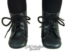 "Black Frontier 1800 Lace-Up Boots Shoes made for 18"" American Girl Doll Clothes"