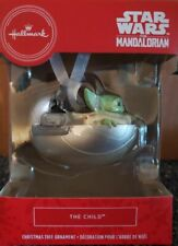 Hallmark 2020 Star Wars The Mandalorian The Child Ornament  BABY YODA 114