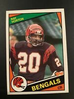 1984 Topps #41 RAY HORTON ROOKIE RC Cincinnati Bengals Set Break MINT LOOK