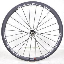 38mm Rear carbon wheel road bike wheels Bicycle Wheelset basalt white sticker