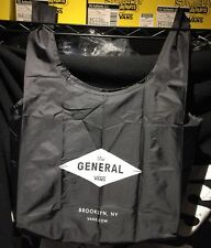 "New VANS ""The General"" Off the Wall Baggu Black reusable tote bag - LAST ONE"