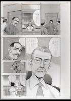 z308 Koshu Prison Original Japanese Manga Comic Art Published Page