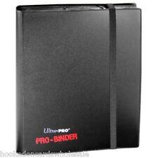 1 Ultra Pro BLACK Pro-Binder Album 9 Pocket Side Load holds 360 Cards CCG Gaming