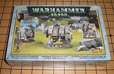 40k Rare oop Vintage Metal Marine Space Wolf Venerable Dreadnought Bjorn NIB