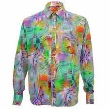 Mens Shirt Loud Originals REGULAR FIT Abstract Trippy Retro Psychedelic Fancy